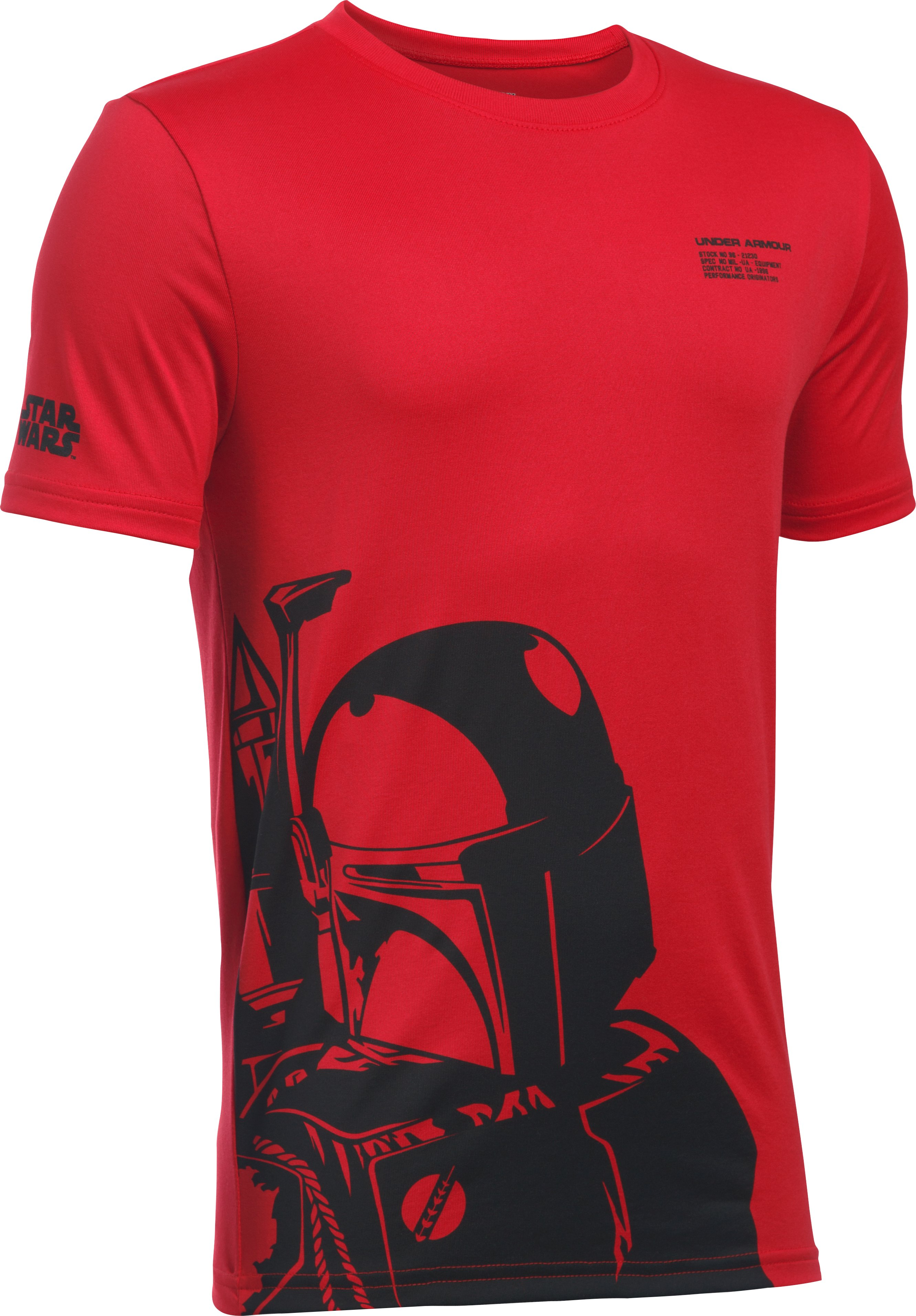 Boys' UA Star Wars Boba Fett T-Shirt, Red