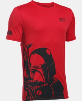 New Arrival Boys' UA Star Wars Boba Fett T-Shirt   $29.99