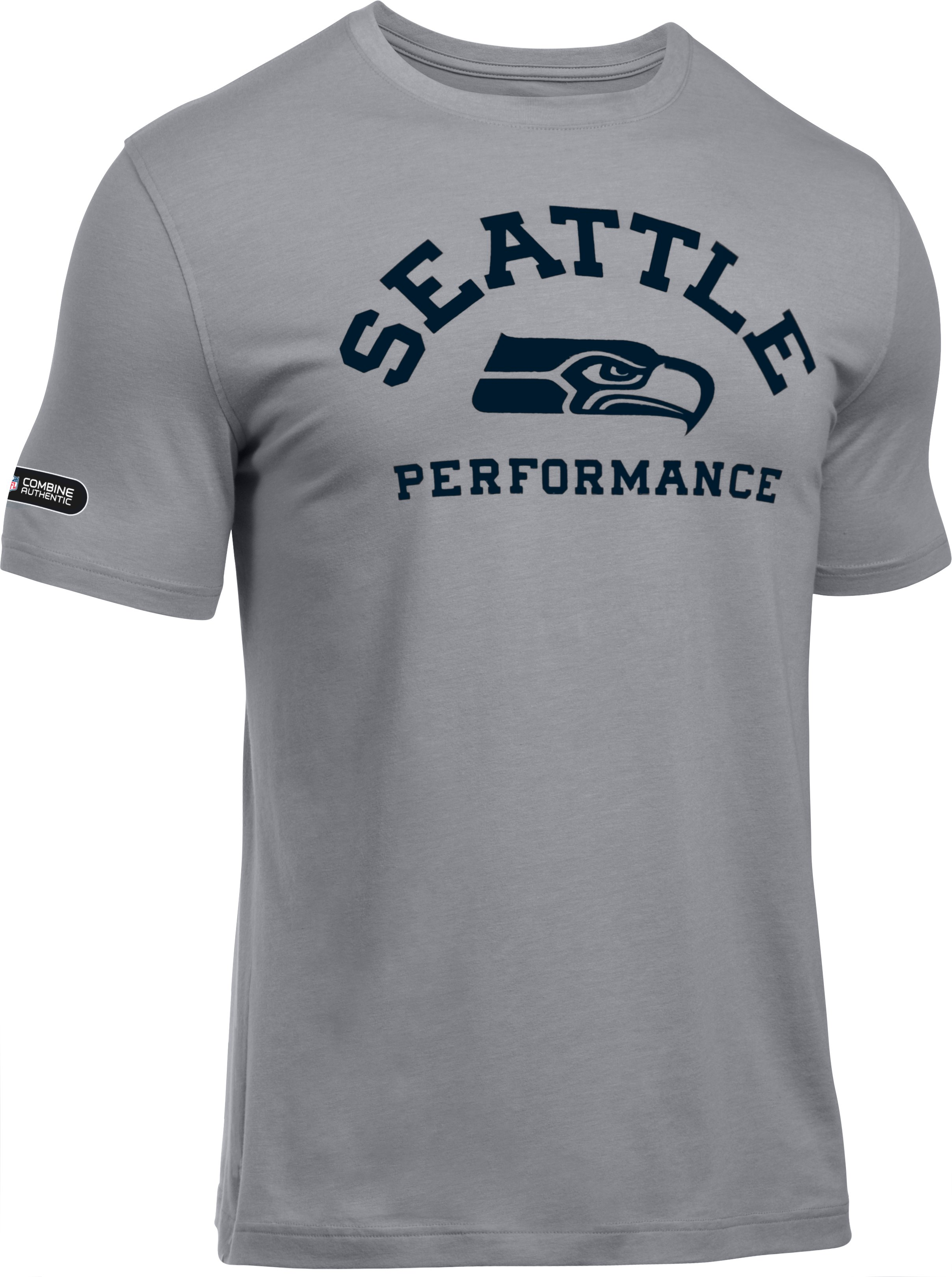 Men's NFL Combine Authentic Charged Cotton®  T-Shirt, Seattle Seahawks