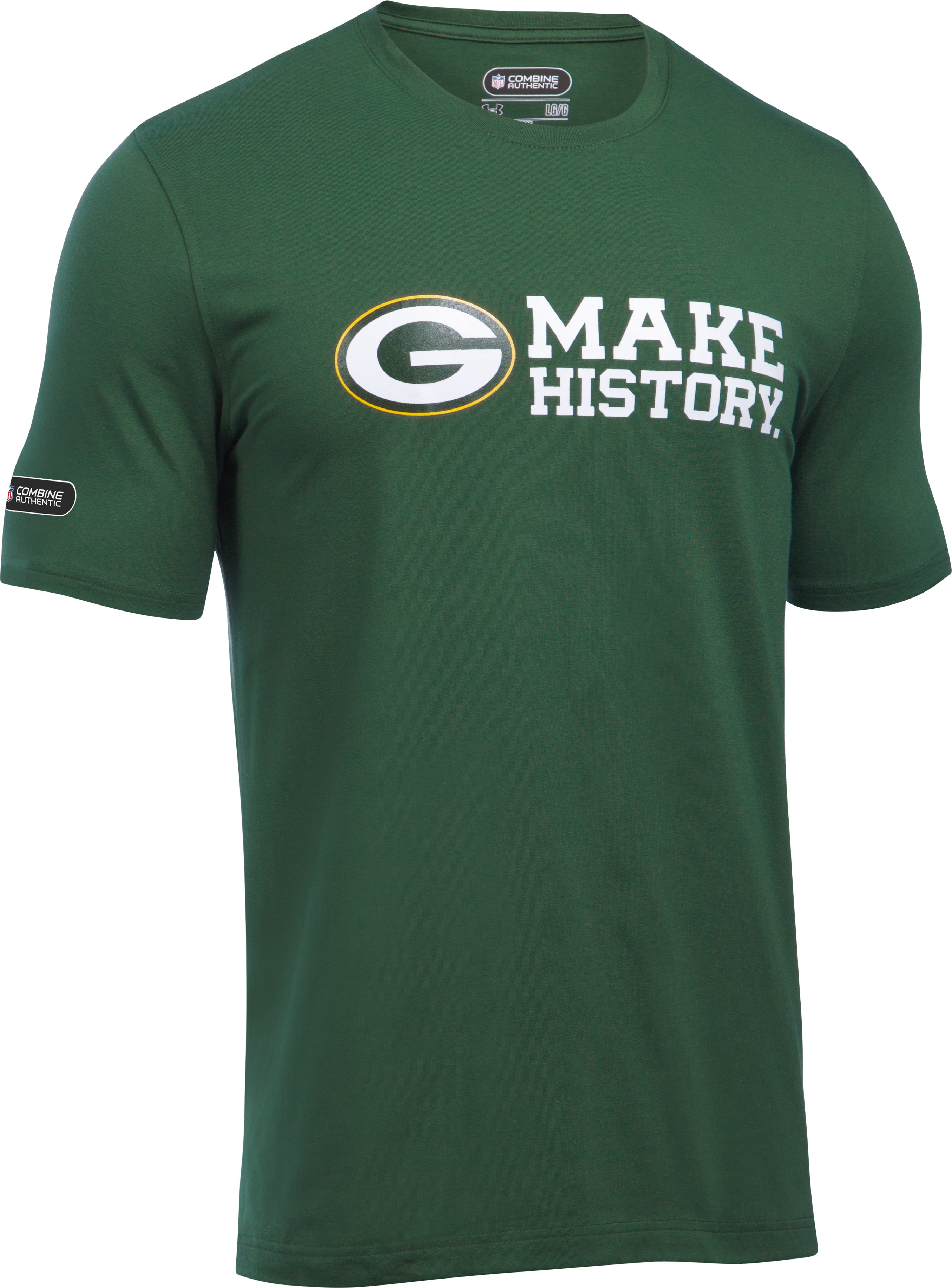Men's NFL Combine Authentic Charged Cotton® T-Shirt , Green Bay Packers, undefined