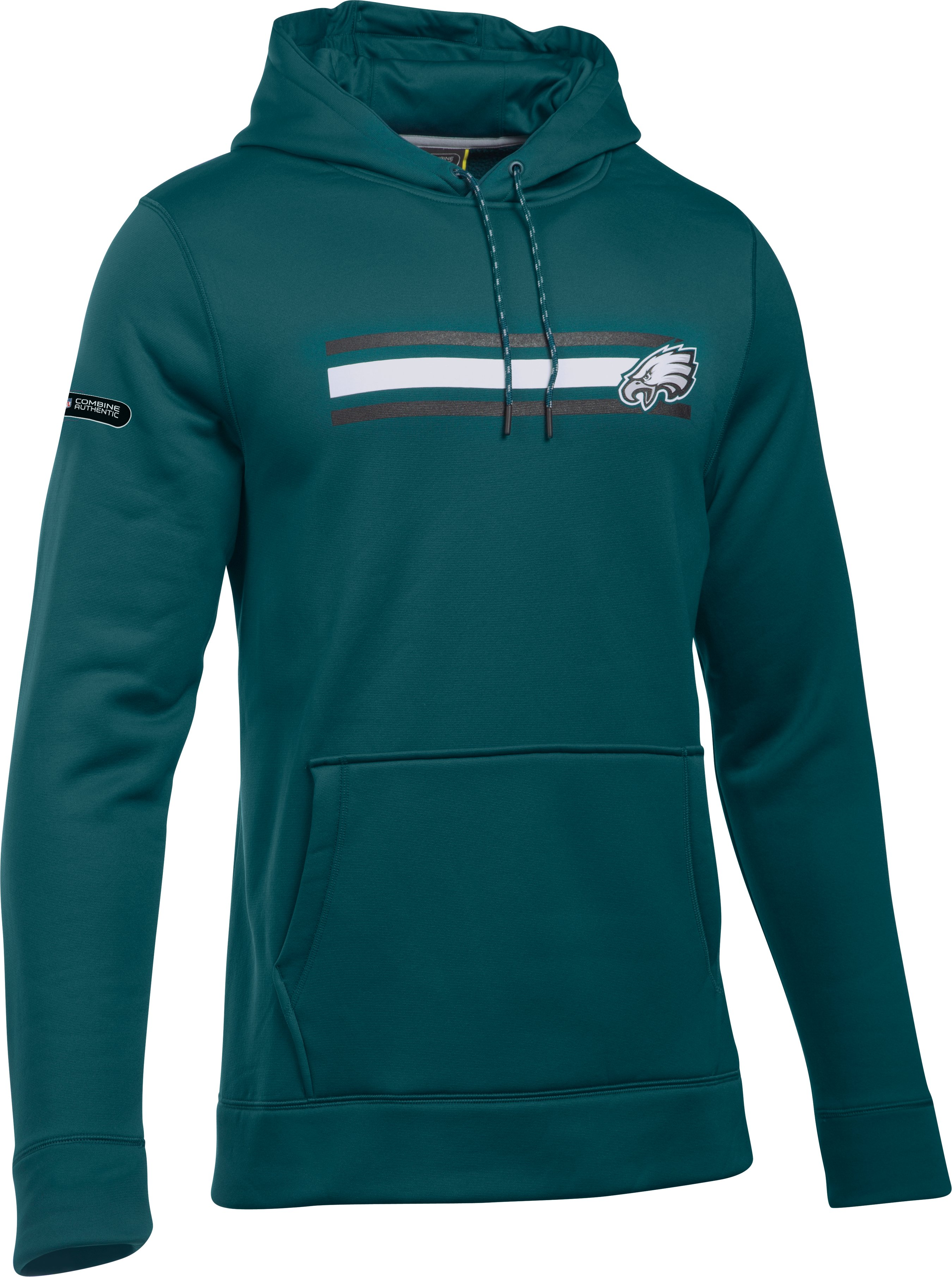 Men's NFL Combine Authentic UA Storm Armour Fleece® Hoodie, Philadelphia Eagles,