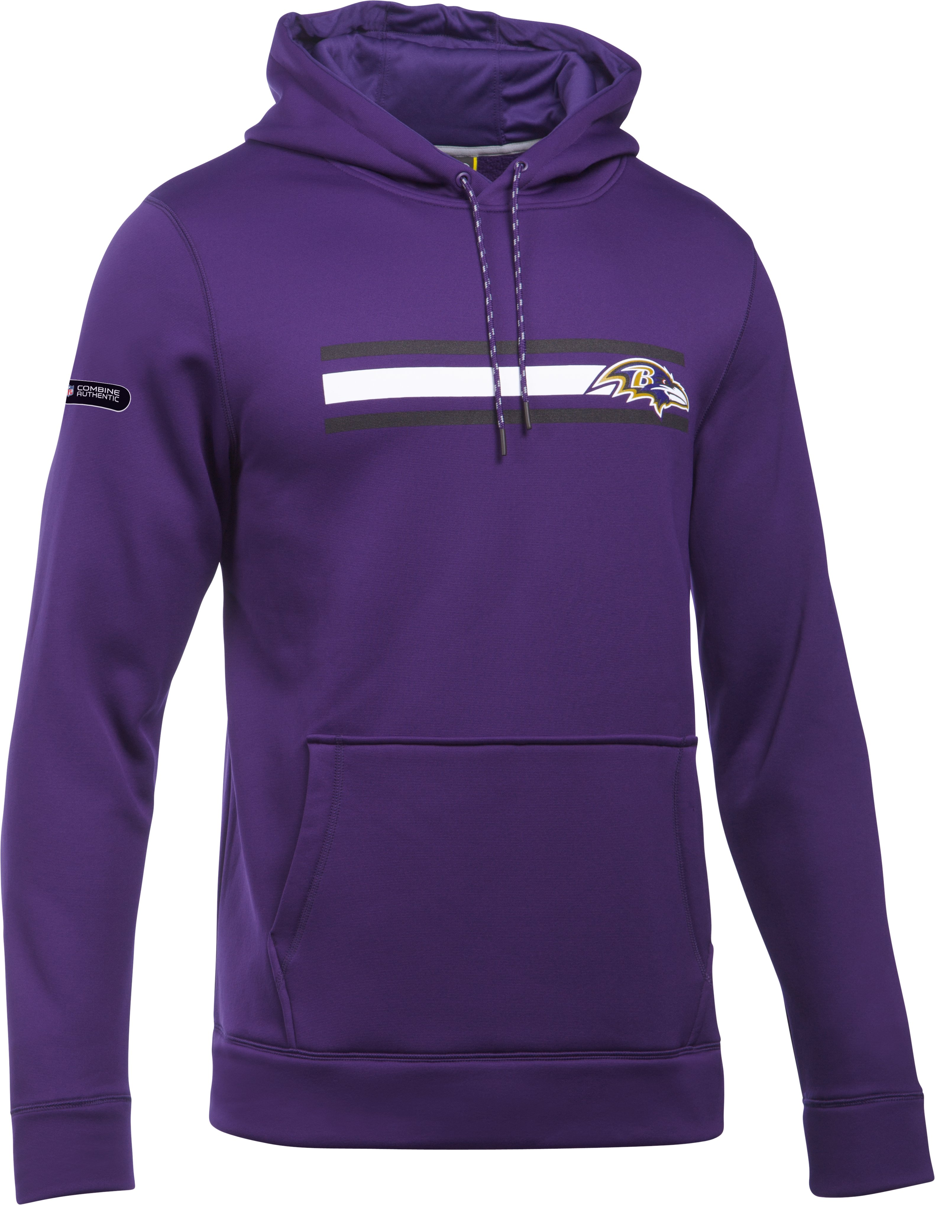 Men's NFL Combine Authentic UA Storm Armour Fleece® Hoodie, Baltimore Ravens,