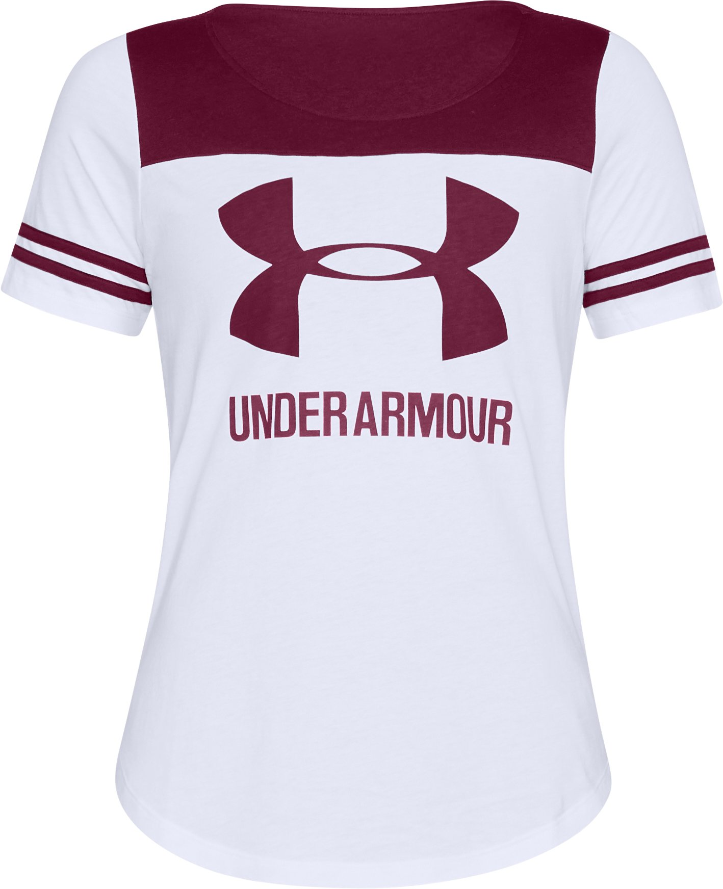 Women's UA Graphic Baseball T, White, undefined