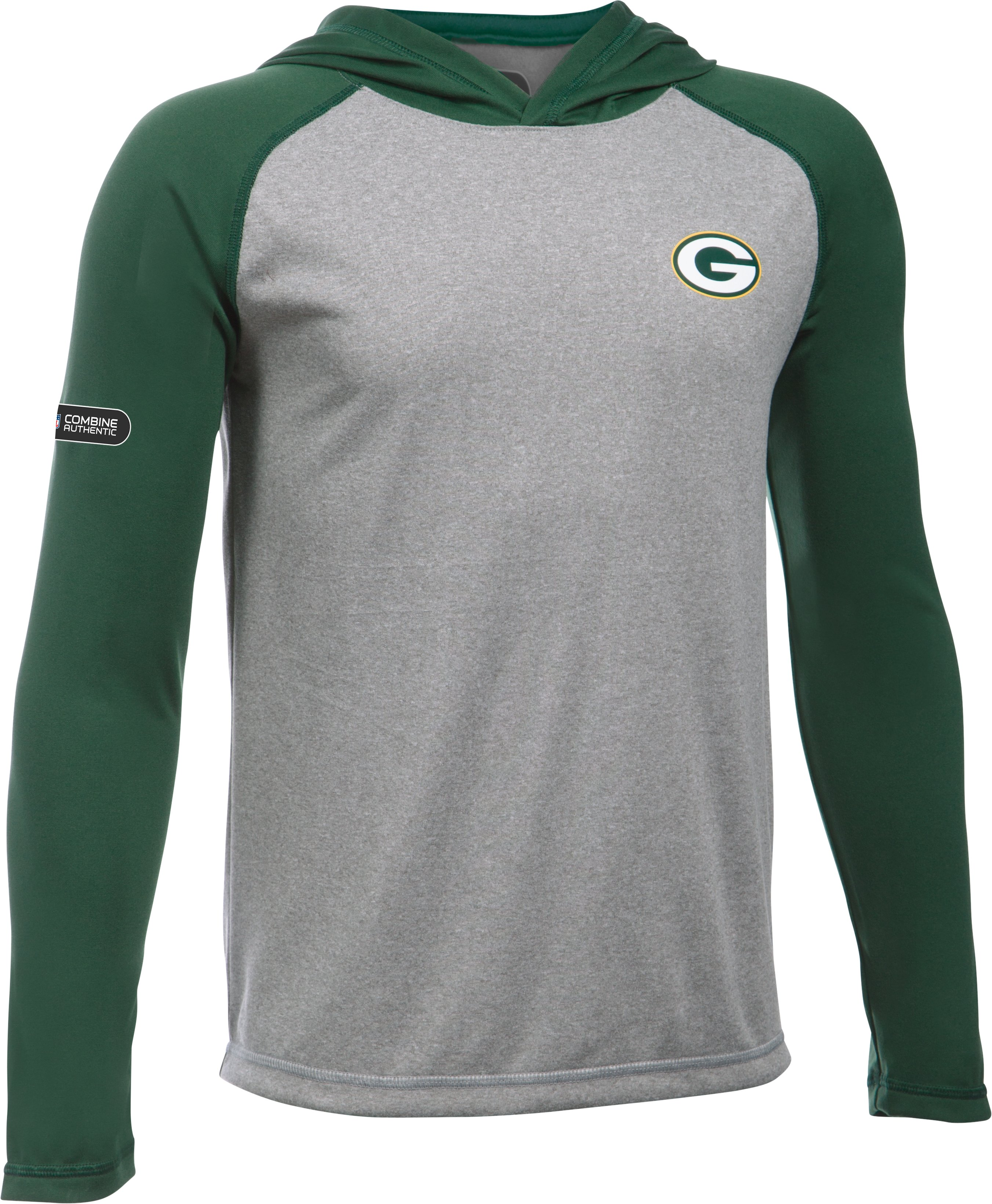 Boys' NFL Combine Authentic UA Tech™ Hoodie, Green Bay Packers