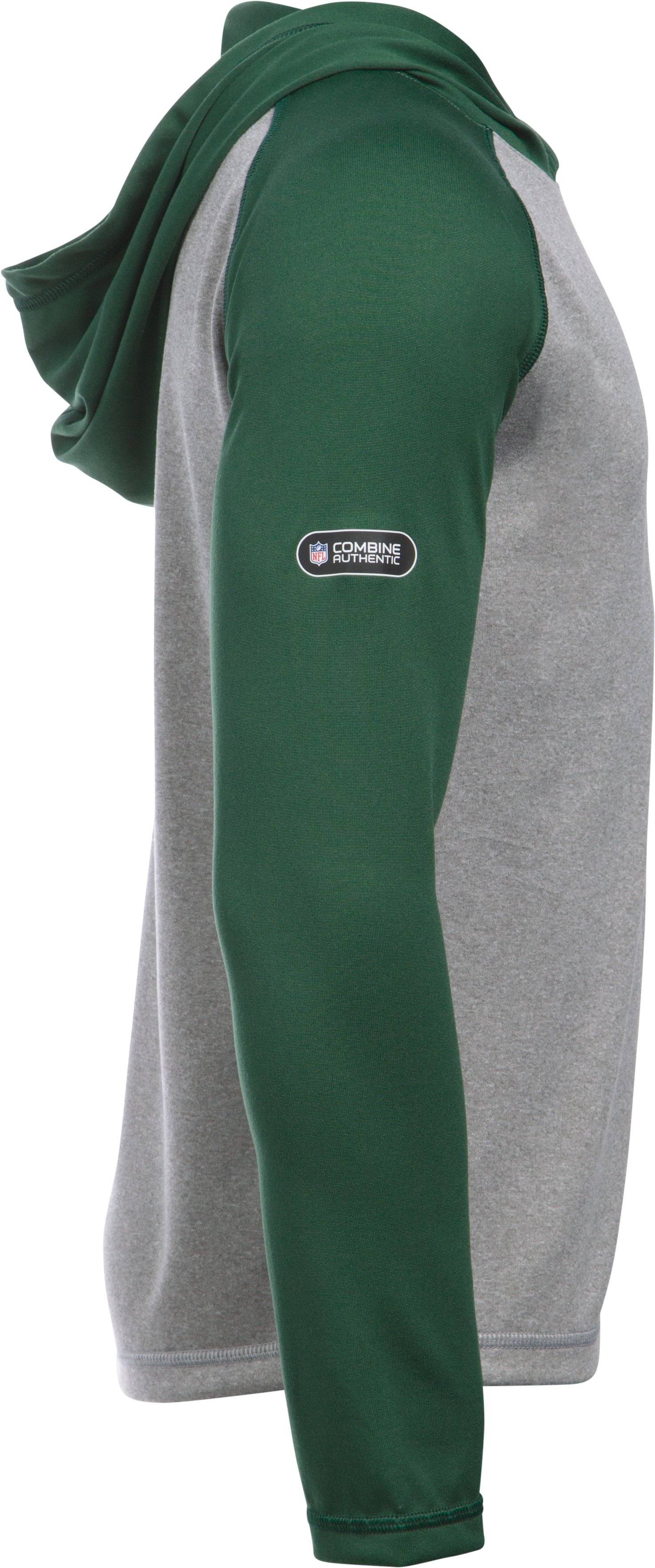 Boys' NFL Combine Authentic UA Tech™ Hoodie, Green Bay Packers, undefined