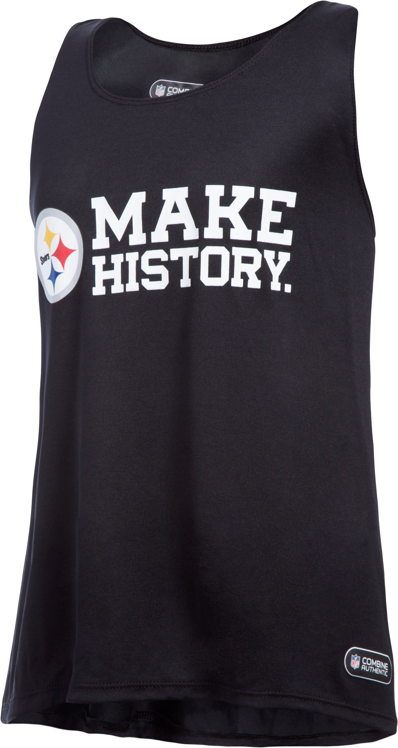 Girls' NFL Combine Authentic UA Tech™ Tank, Pittsburgh Steelers,