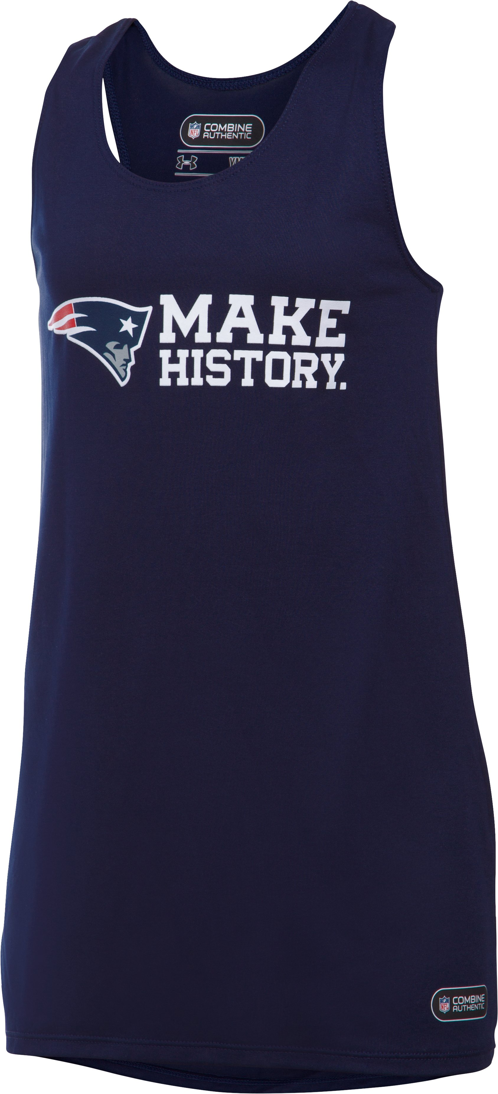 Girls' NFL Combine Authentic UA Tech™ Tank, New England Patriots,