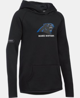 New Arrival Girls' NFL Combine Authentic Armour® Fleece Hoodie  10 Colors $54.99