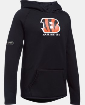 Girls' NFL Combine Authentic Armour® Fleece Hoodie  10 Colors $31.49