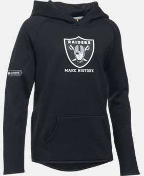 Girls' NFL Combine Authentic Armour® Fleece Hoodie  3 Colors $54.99