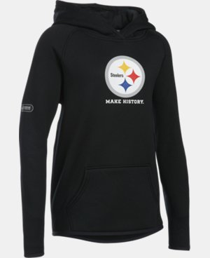 Girls' NFL Combine Authentic Armour® Fleece Hoodie   $54.99