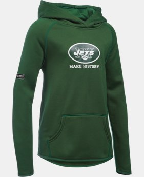 Girls' NFL Combine Authentic Armour® Fleece Hoodie  2 Colors $31.49