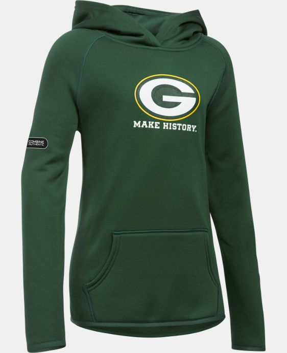Girls' NFL Combine Authentic Armour® Fleece Hoodie LIMITED TIME: FREE U.S. SHIPPING 3 Colors $54.99