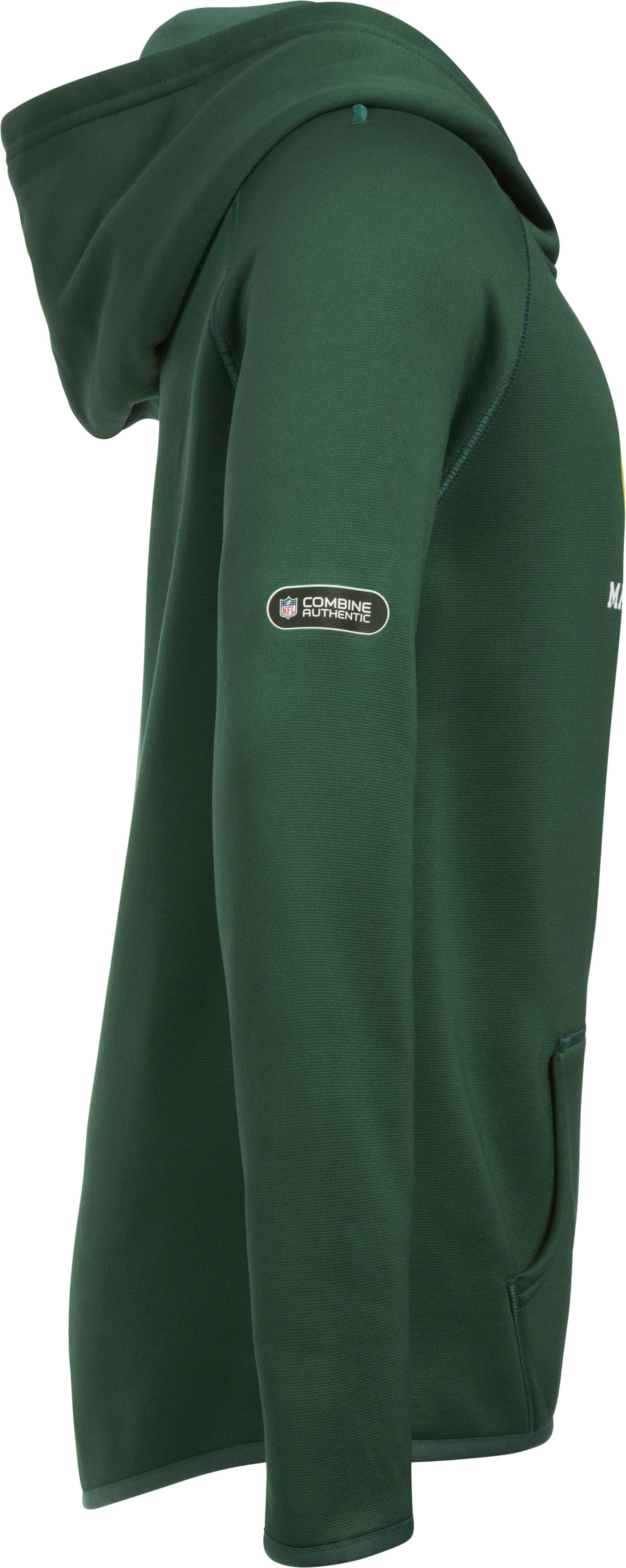 Girls' NFL Combine Authentic Armour Fleece® Hoodie, Green Bay Packers,