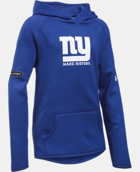 Girls' NFL Combine Authentic Armour® Fleece Hoodie  1 Color $32.99 to $38.99