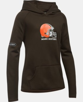 Girls' NFL Combine Authentic Armour® Fleece Hoodie  1 Color $41.99