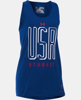 Girls' USA Gymnast Tank