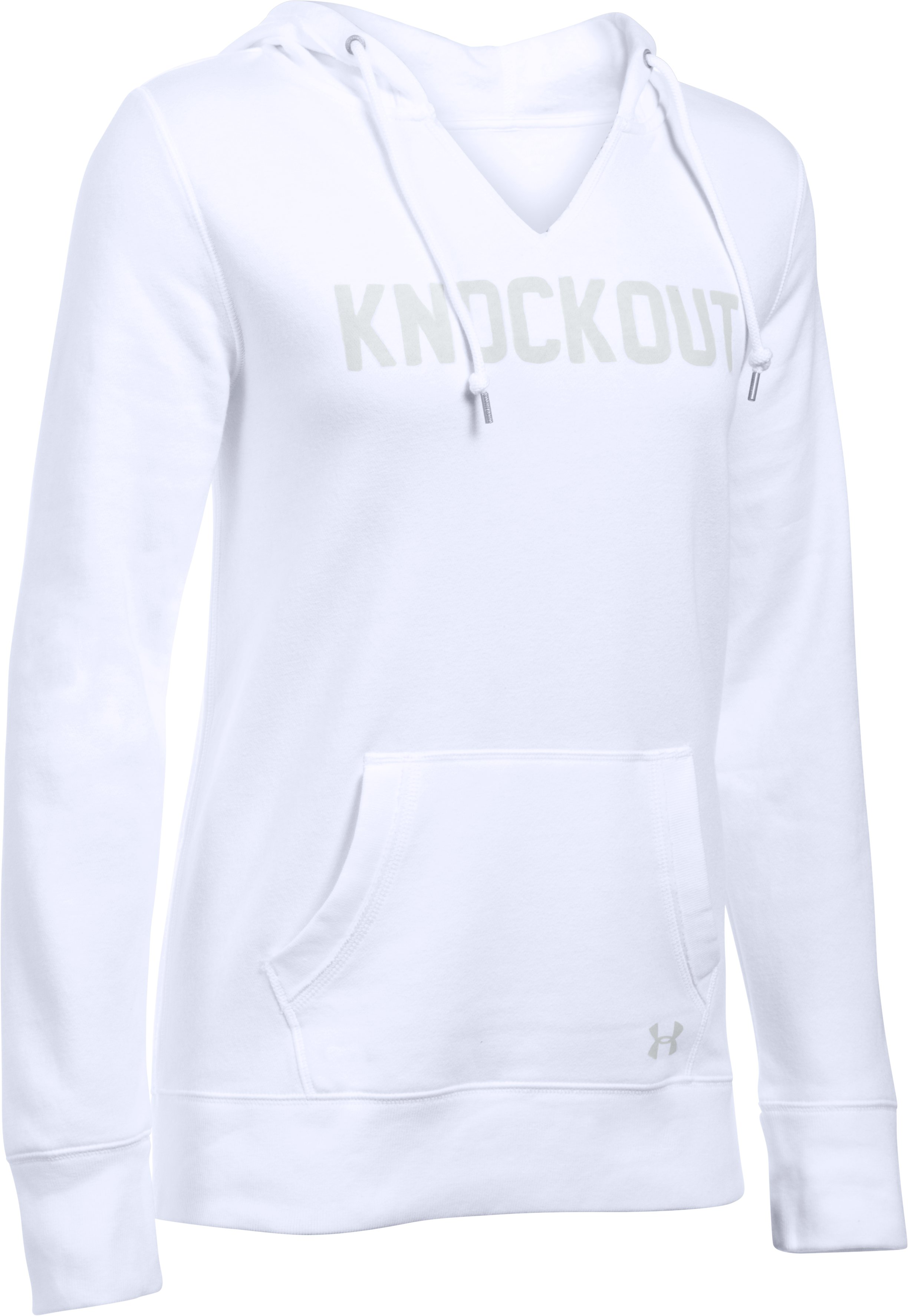 Women's UA Favorite Fleece- Knockout, White, undefined