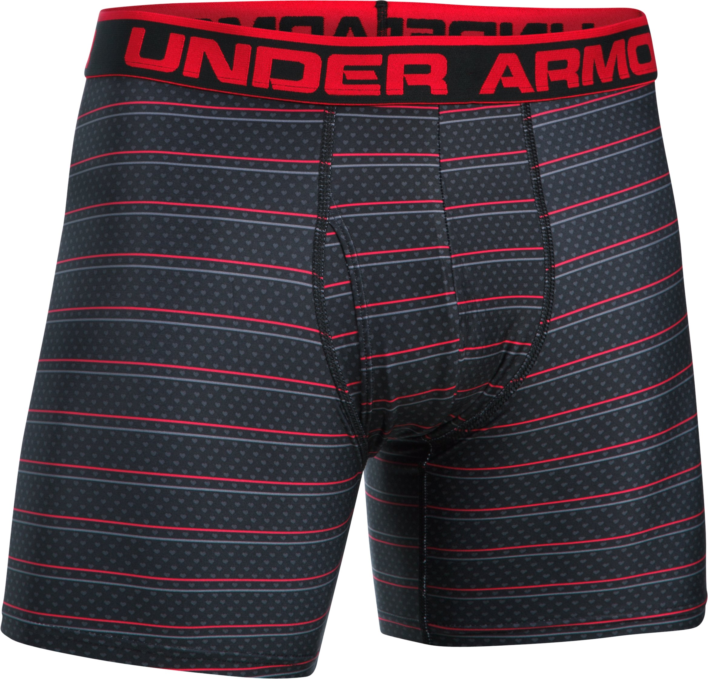 Men's UA Original Series Printed Boxerjock®, Black