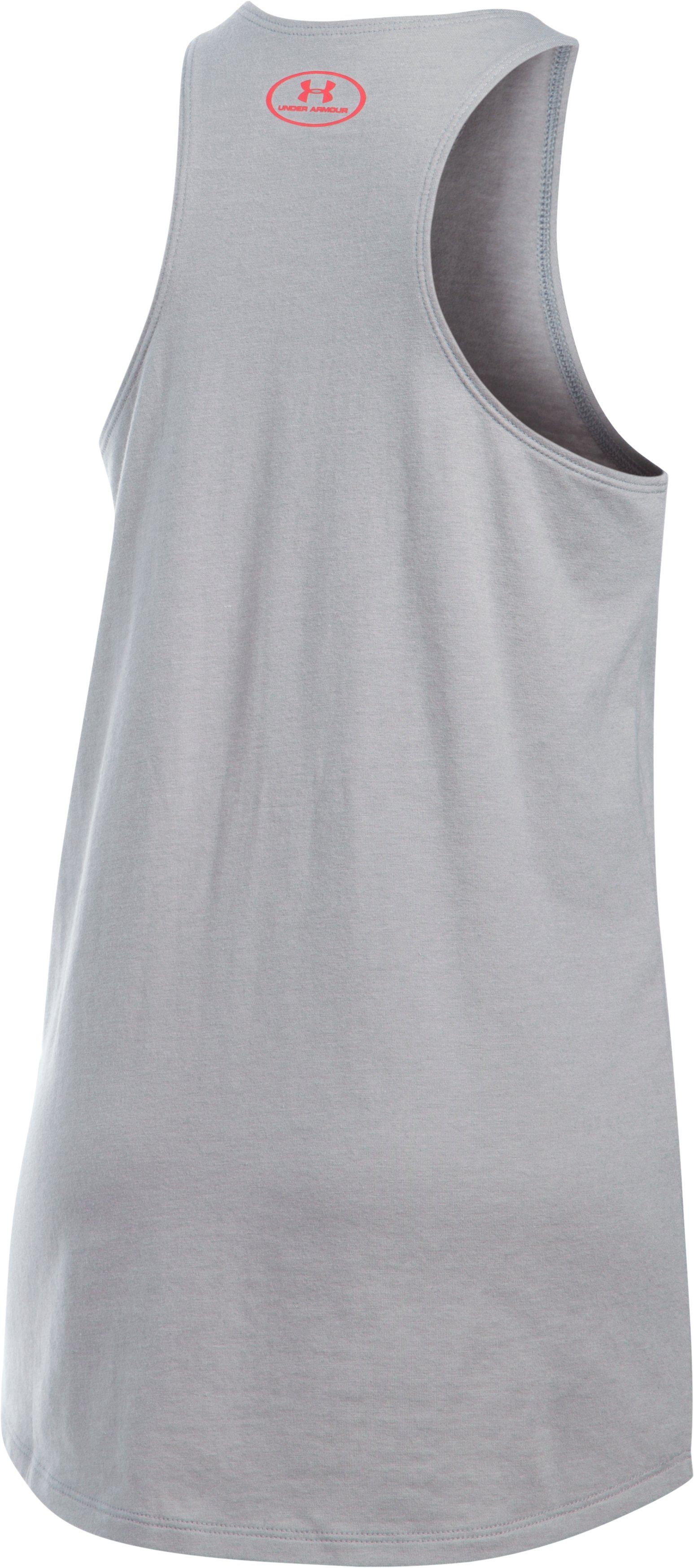 Girls' USA Gymnastics Tank, True Gray Heather