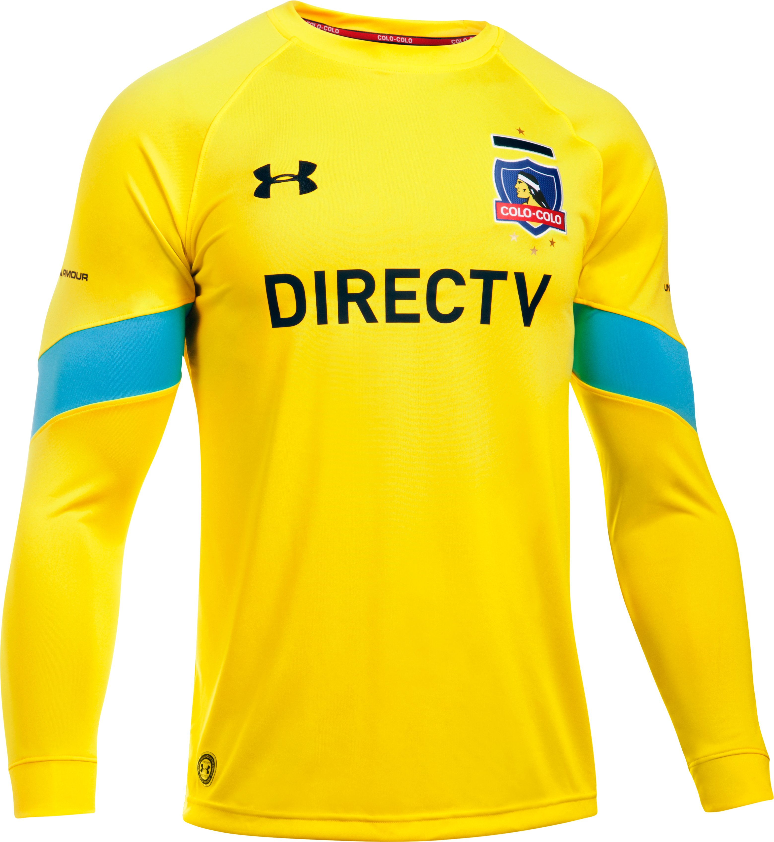 Men's Colo-Colo 16/17 Goalkeeper Replica Jersey, Sunbleached,