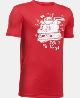 New Arrival  Boys' UA Speed Freak T-Shirt   $22.99