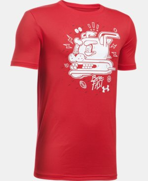 New Arrival  Boys' UA Speed Freak T-Shirt  1 Color $22.99