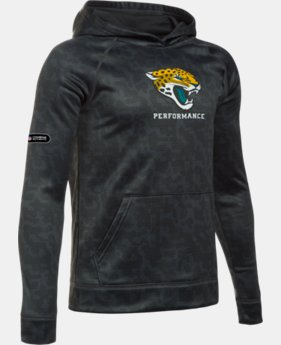 Boys' NFL Combine Authentic UA Storm Armour® Fleece Printed Hoodie  1 Color $38.99 to $64.99