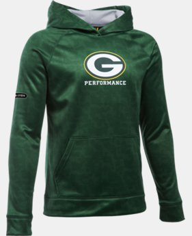 Boys' NFL Combine Authentic UA Storm Armour® Fleece Printed Hoodie  1 Color $38.99 to $48.99
