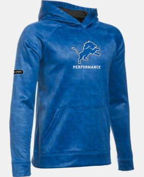 Boys' NFL Combine Authentic UA Storm Armour® Fleece Printed Hoodie LIMITED TIME: FREE U.S. SHIPPING 4 Colors $64.99
