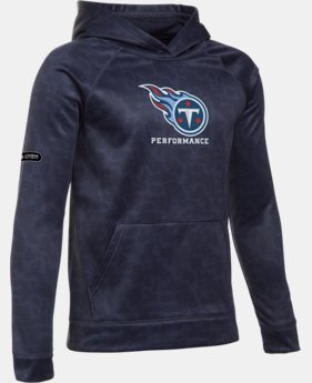 Boys' NFL Combine Authentic UA Storm Armour® Fleece Printed Hoodie LIMITED TIME: FREE U.S. SHIPPING  $48.99