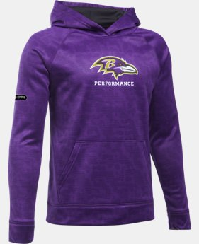 Boys' NFL Combine Authentic UA Storm Armour® Fleece Printed Hoodie  1 Color $64.99