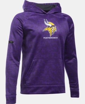 Boys' NFL Combine Authentic UA Storm Armour® Fleece Printed Hoodie   $64.99