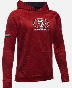 Boys' NFL Combine Authentic UA Storm Armour Fleece® Printed Hoodie  2 Colors $38.99 to $48.99