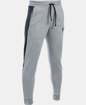 New Arrival Boys' UA Pursuit Fleece Cargo Pants   $54.99
