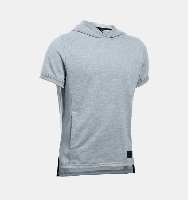 Boys' UA Winners Circle Fleece Hooded Short Sleeve | Under Armour US