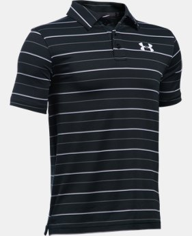 New Arrival Boys' UA Par Polo LIMITED TIME: FREE SHIPPING 2 Colors $39.99