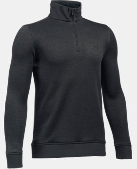 Boys' UA Storm SweaterFleece ¼ Zip  2 Colors $64.99