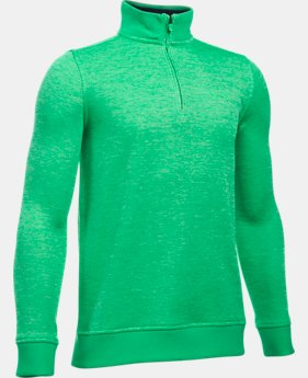 Boys' UA Storm SweaterFleece ¼ Zip  1 Color $23.24 to $31.49
