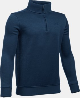New Arrival Boys' UA Storm SweaterFleece ¼ Zip  1 Color $54.99