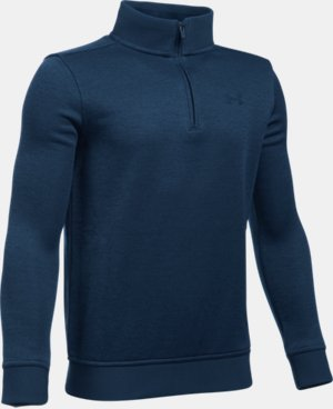 Boys' UA Storm SweaterFleece ¼ Zip LIMITED TIME: FREE U.S. SHIPPING 1 Color $41.99 to $54.99