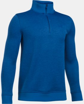 New to Outlet Boys' UA Storm SweaterFleece ¼ Zip   $41.99