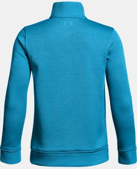 Boys' UA Storm SweaterFleece ¼ Zip  4 Colors $54.99
