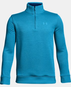 Boys' UA Storm SweaterFleece ¼ Zip  3 Colors $54.99