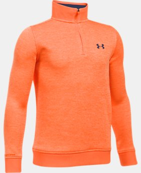 Boys' UA Storm SweaterFleece ¼ Zip  1 Color $38.99 to $54.99