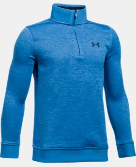 Boys' UA Storm SweaterFleece ¼ Zip LIMITED TIME OFFER 2 Colors $38.49
