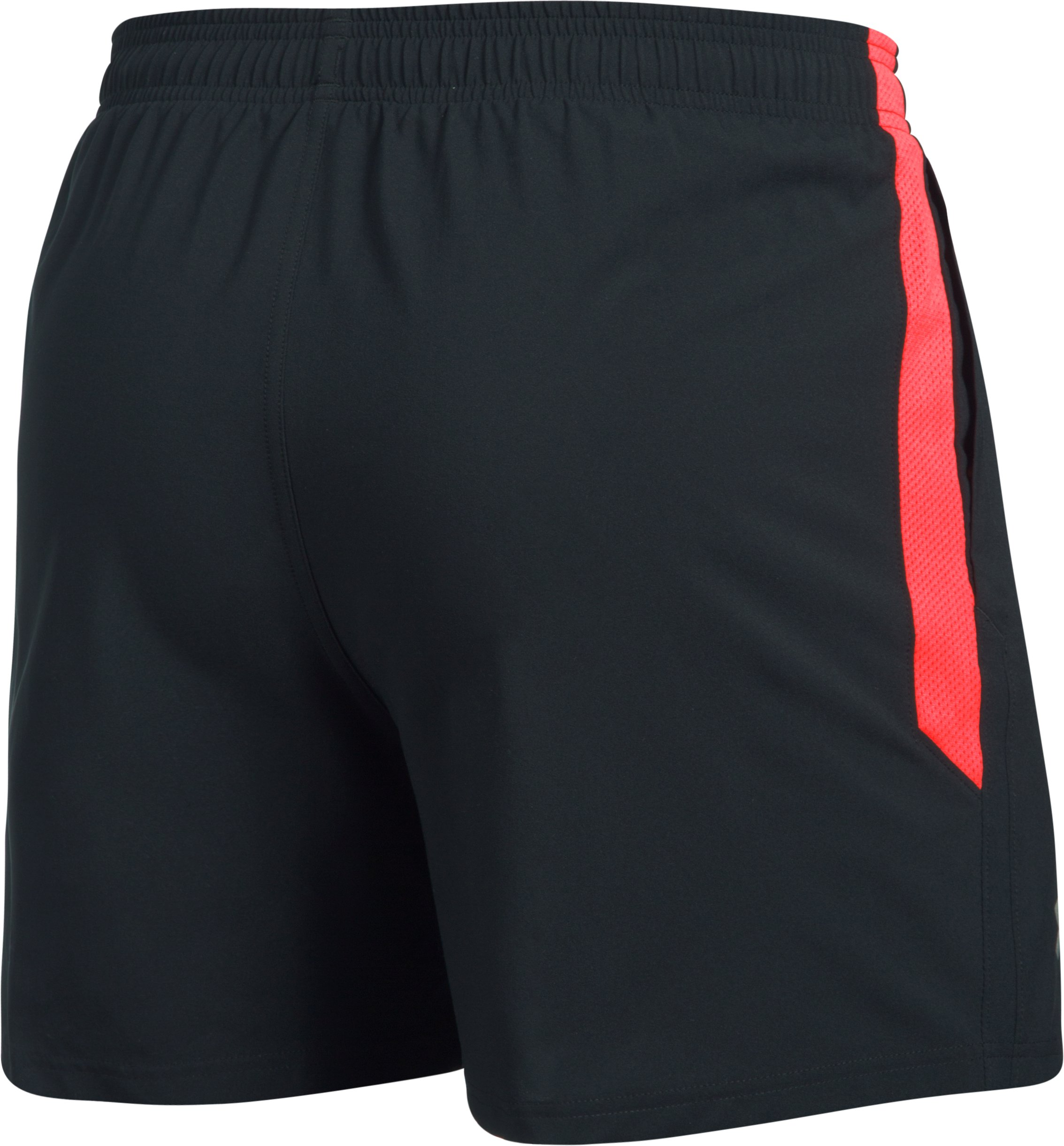 Men's UA Launch SW 5'' Shorts, Black , undefined