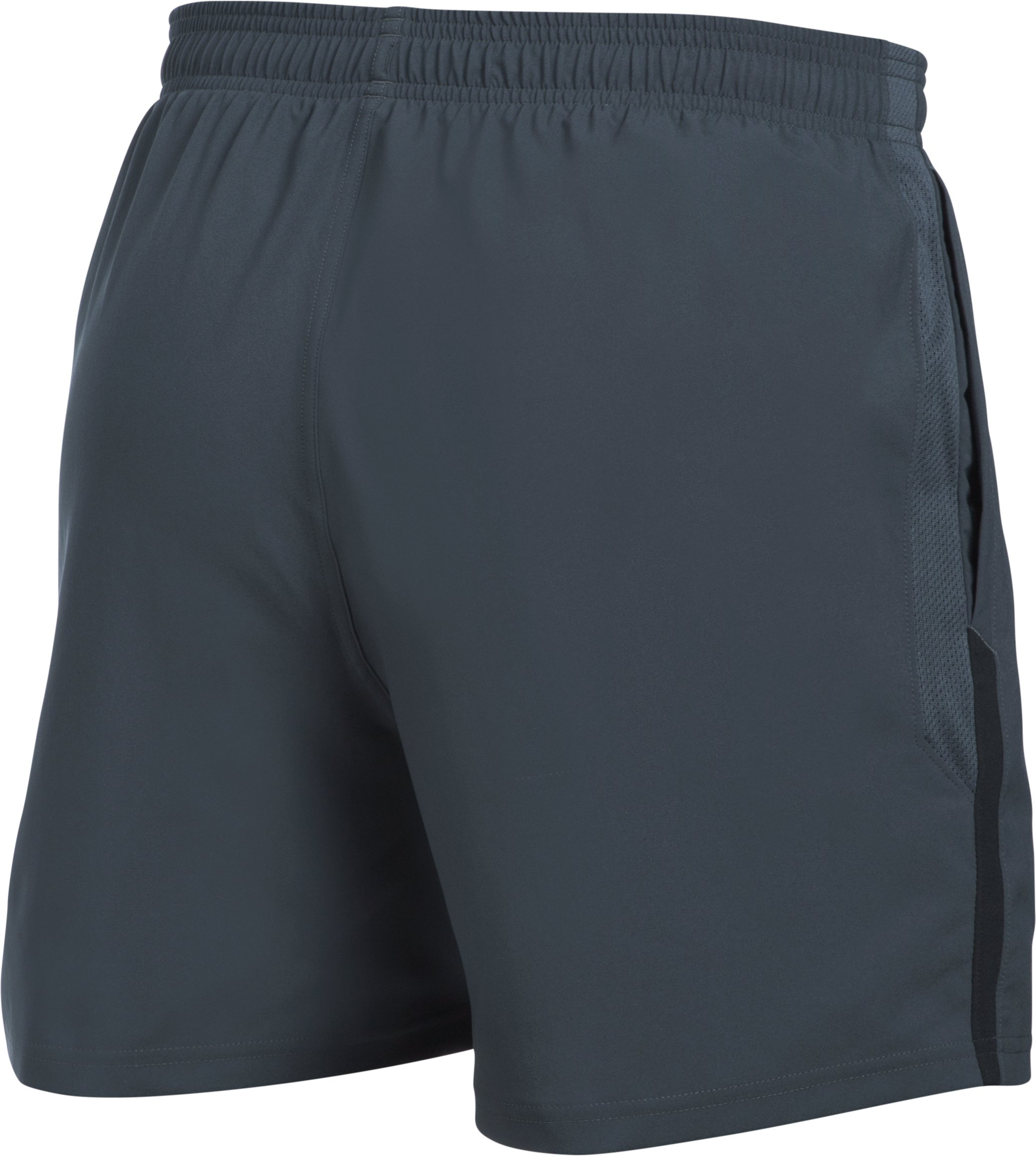 Men's UA Launch SW 5'' Shorts, STEALTH GRAY,