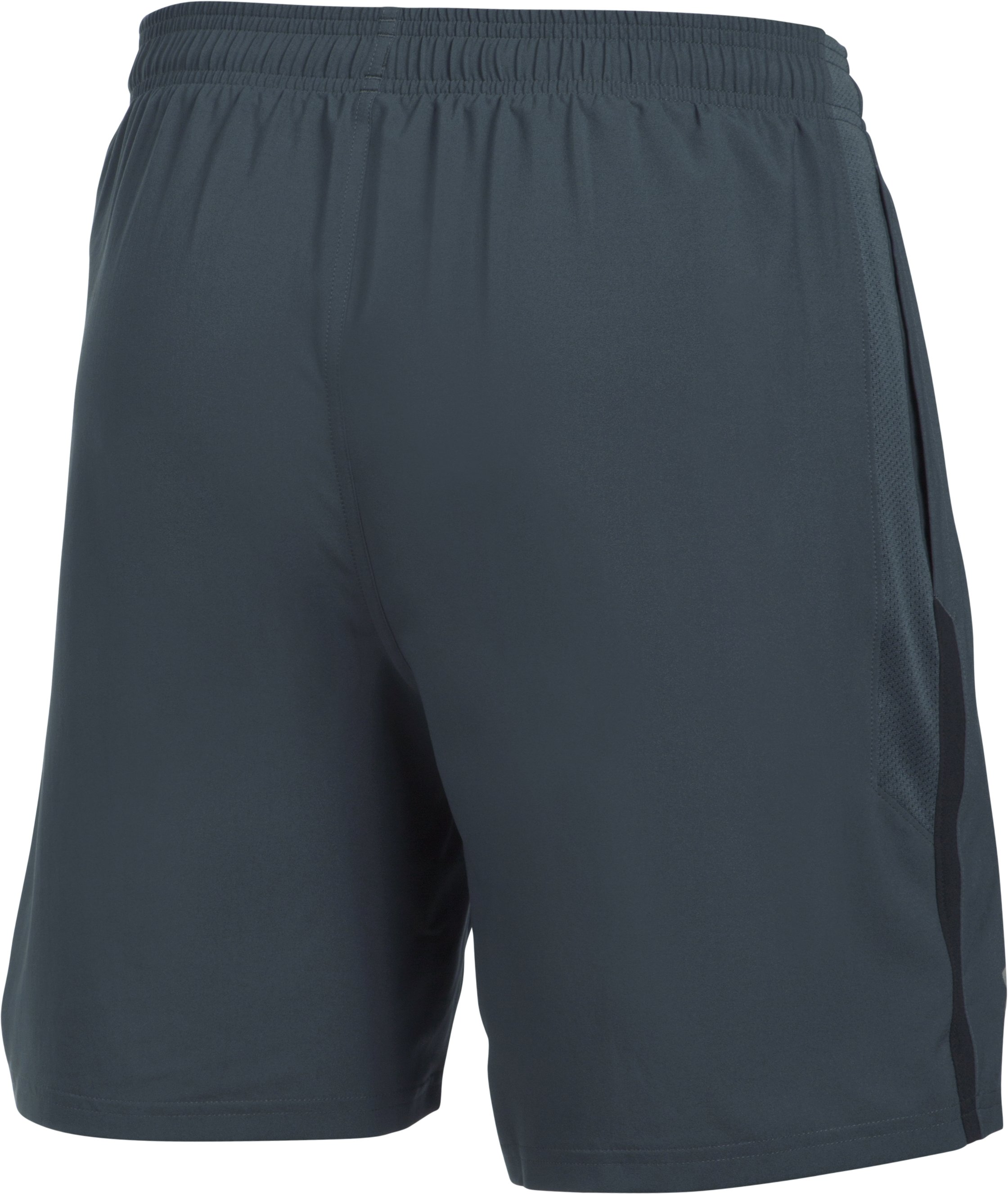 Men's UA Launch SW 7'' Shorts, STEALTH GRAY,