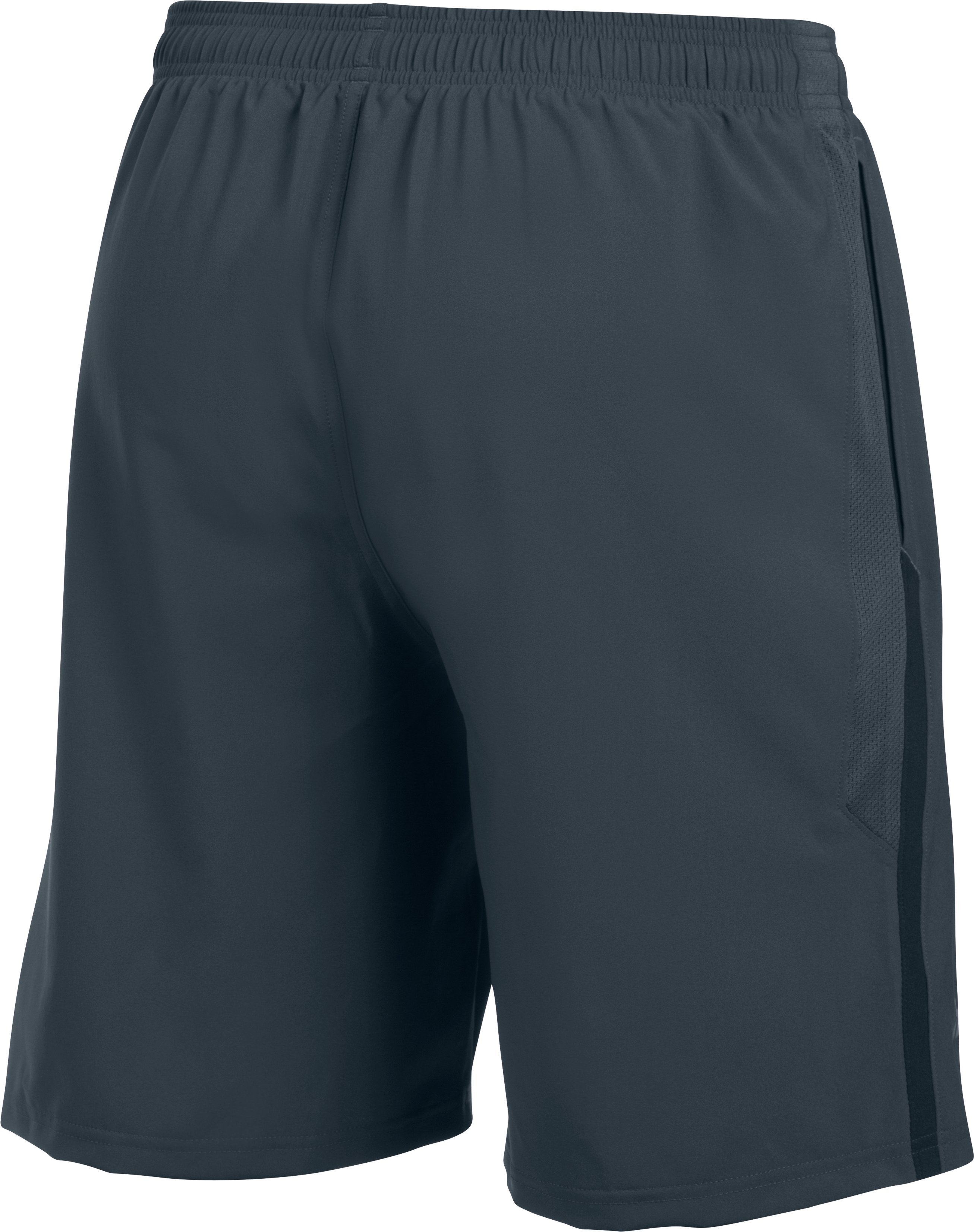 Men's UA Launch SW 9'' Shorts, STEALTH GRAY, undefined